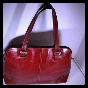 Great Fossil Tote, Travel, Business Bag Burgundy